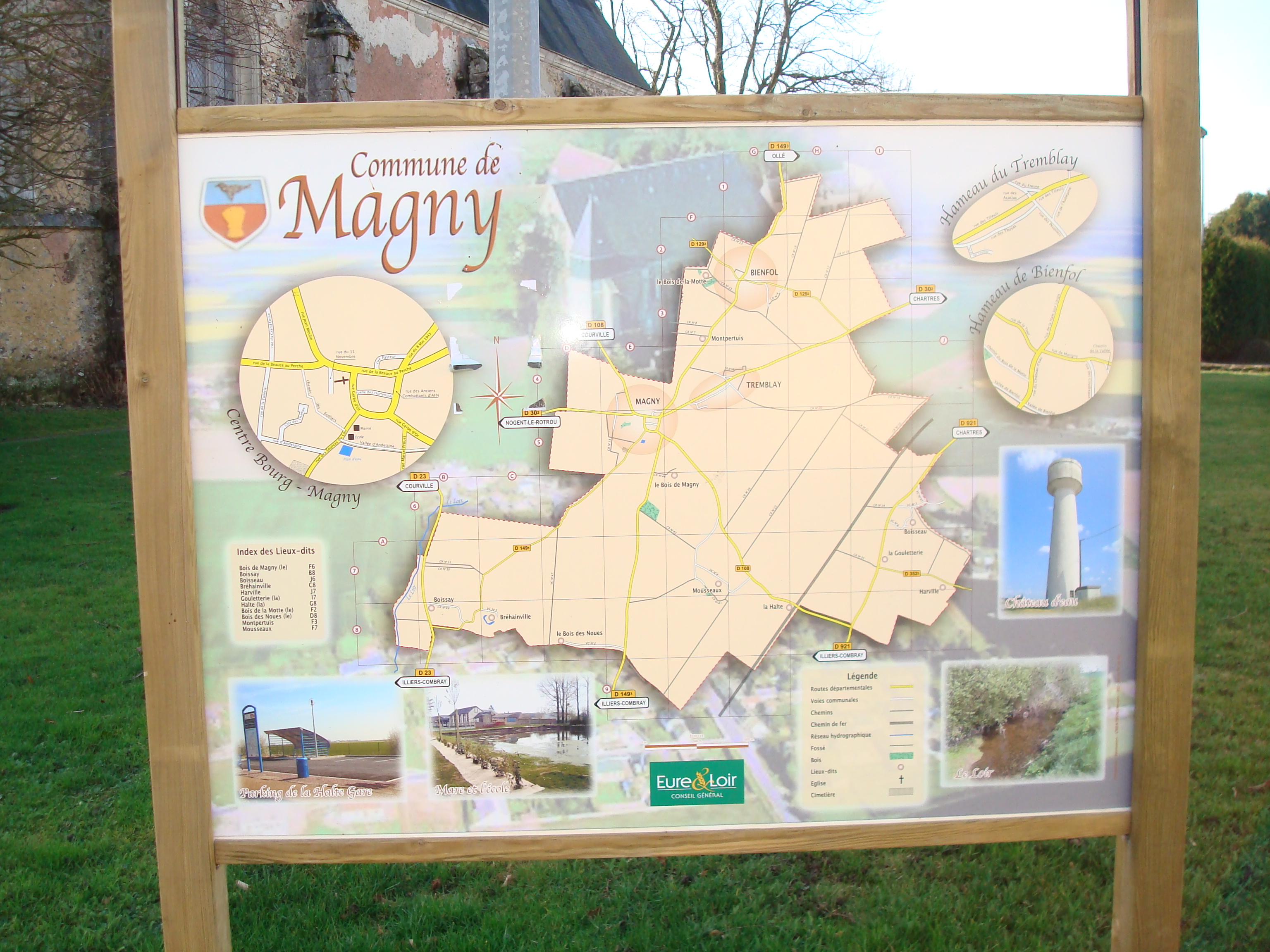 plan de Magny